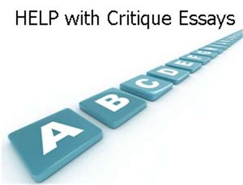 An essay on criticism is best described assistance